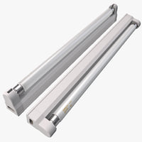 maya fluorescent strip luminaire