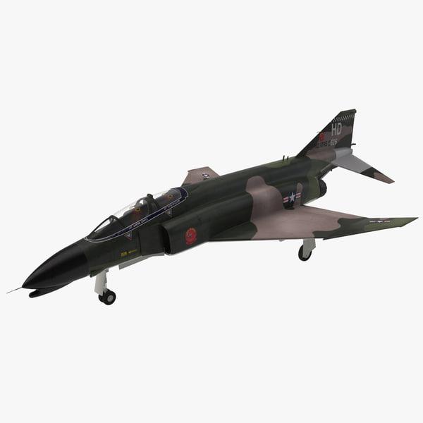 McDonnell Douglas F4 Phantom II 2 supersonic interceptor bomber US navy united states marine corps airforce air force war battle plane airplane vray