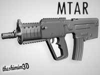 3d mtar rifle