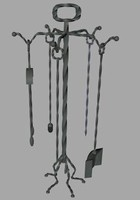 fireplace tool set 3ds