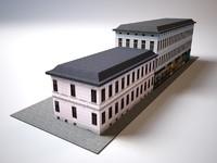 3d model old city