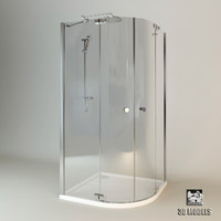 3d shower cabin huppe