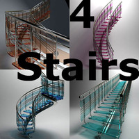 3d stair pack glasses