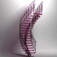spiral stair x