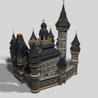 3d fantasy castle