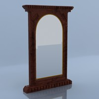 3ds antique mirror