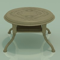 antique table 3d max