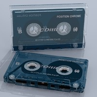 Music Cassette With Cassette Box