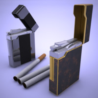 Lighter cigar set