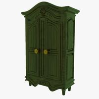 wardrobe antique 3d max