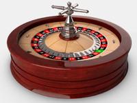 3d model of roulette wheel