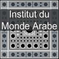 institut arabe world 3d max