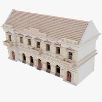 secession building 3d max