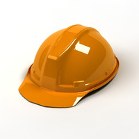 3d safety helmet model