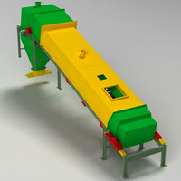 3d conveyor belt machine