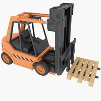 3ds max forklift toy
