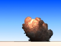fumefx explosion 3d max