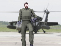 army helicopter pilot helmet 3d max