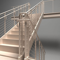 3d stair staircase