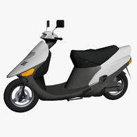 spacy scooter 3d max