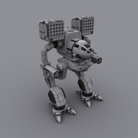 3d mech warrior war