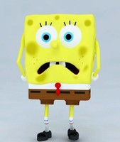 3d model spongebob squarepants