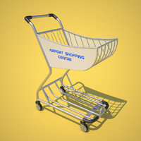 airport shopping trolley max