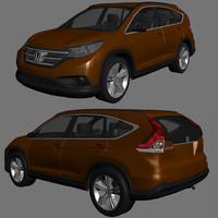 3d model honda cr-v cr