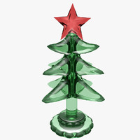 light christmas tree 3d obj