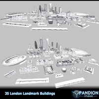 3d london landmarks olympic stadium