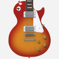 3d guitar gibson les model