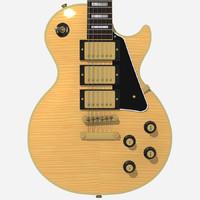 3dsmax guitar gibson les