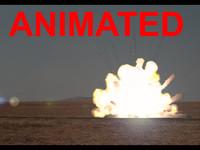 3ds max fume fx fumefx explosion