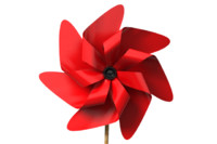 3d obj pinwheel pin wheel