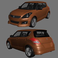 suzuki swift rs 3d model