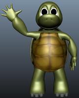 3d model turtle