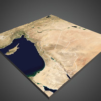 syria middle east - 3d model