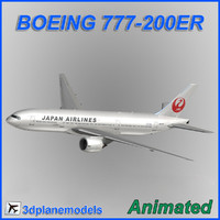 Boeing 777-200ER Japan Airlines JAL