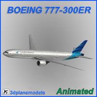 3d model boeing 777-300er