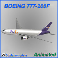 3d boeing 777-200f
