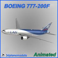 boeing 777-200f cargo 3ds