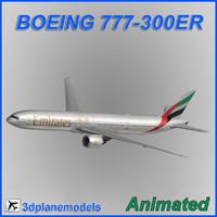 3ds boeing 777-300er