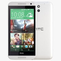 3d model of htc desire 610 white