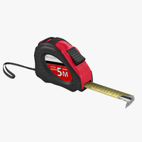 tape measure 3d 3ds