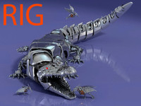 Croco  tech robot animal