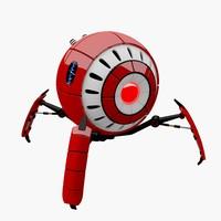 robot eye smart 3d model