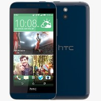 htc desire 610 blue 3d 3ds