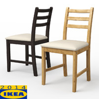 lerhamn dining chair 3d 3ds