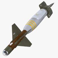 gbu-24 paveway iii bomb 3d model