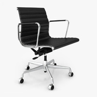 3d vitra office chair